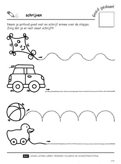 Speel- en oefenboek met beloningsstickers (4-5 j.) – Eerste stappen naar schrijven Cadeauboeken voor kinderen