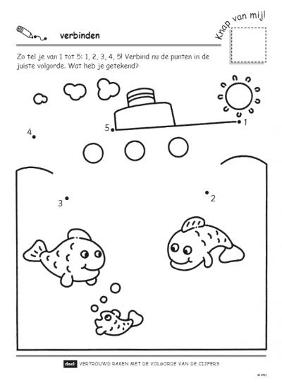 Speel- en oefenboek met beloningsstickers (4-5 j.) – Eerste stappen naar tellen Cadeauboeken voor kinderen