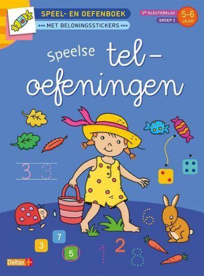Speel- en oefenboek met beloningsstickers (5-6 j.) – Speelse teloefeningen Cadeauboeken voor kinderen