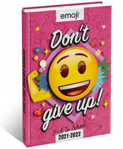 EMOJI Don't give up! Schoolagenda 2021/2022 Schoolagenda