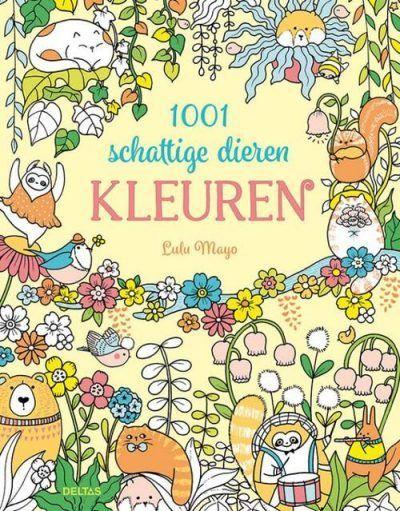 1001 Schattige Dieren Kleuren Kleurboek dieren