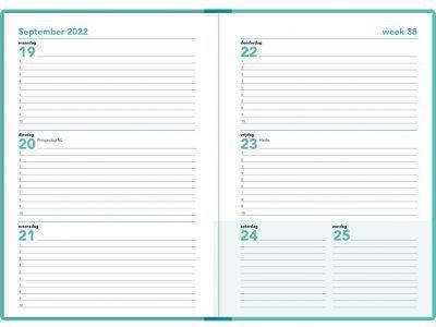 16 maanden agenda 2021-2022 – A5 – Groen Schoolagenda