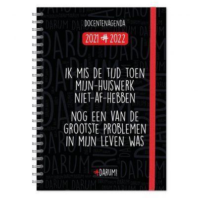 Darum Docentenagenda 2021-2022 – A4 Docentenagenda