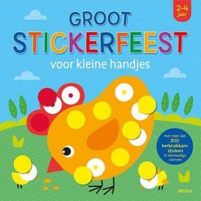 Groot stickerfeest voor kleine handjes (2-4 j.) Kinderstickers
