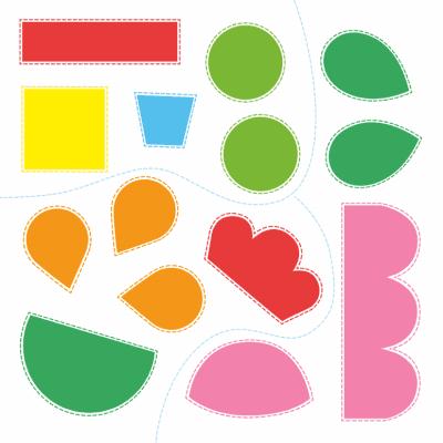 Het grote knip- en plakboek voor kleine handjes (3-5 j.) Kinderstickers