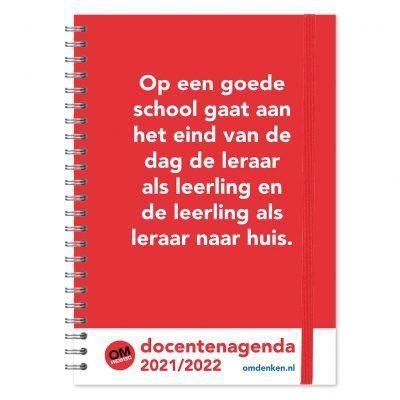 Omdenken Docentenagenda 2021-2022 – A4 Docentenagenda