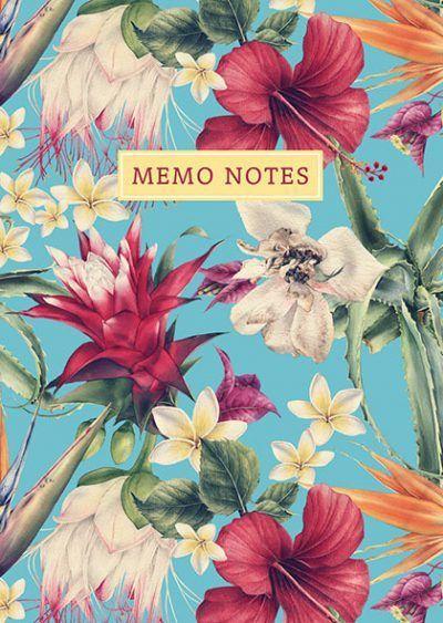 PaperStore Memo notes – Exotic Memoblok