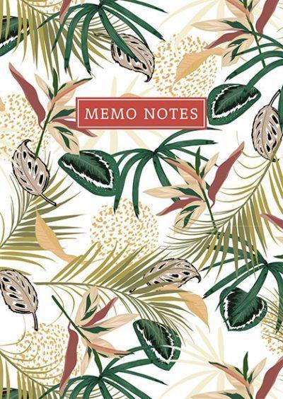PaperStore Memo notes – Tropical Memoblok