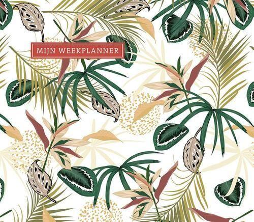PaperStore Mijn weekplanner – Tropical Deskplanners
