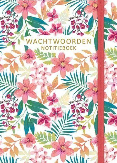 PaperStore Wachtwoorden notitieboekje – Flowers Cadeauboeken