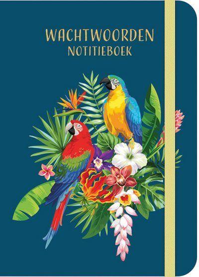 PaperStore Wachtwoorden notitieboekje – Tropical birds Cadeauboeken