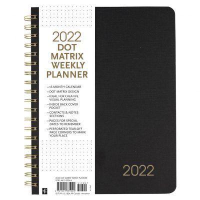Peter Pauper 16 maanden agenda 2021-2022 – Dot Matrix Schoolagenda