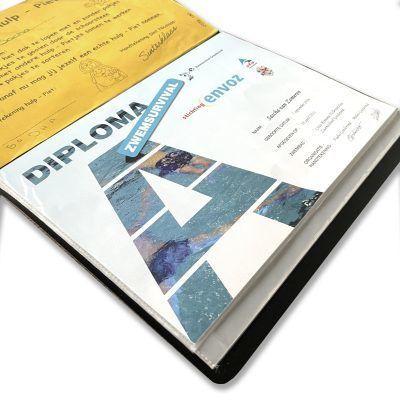 SilliBeads Diploma bewaarmap – A4 Cadeauboeken voor kinderen