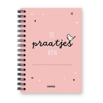 Thuismusje De praatjes van … – Roze – Uitsprakenboekje Uitsprakenboekje