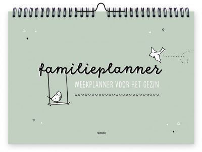 Thuismusje Familieplanner – A4 Familie kalender