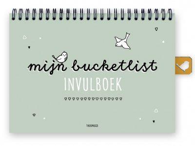 Thuismusje Mijn bucketlist invulboek- A5 Bucketlist boek