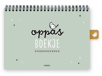 Thuismusje Oppasboek – Groen – A5 Creche & oppasboek