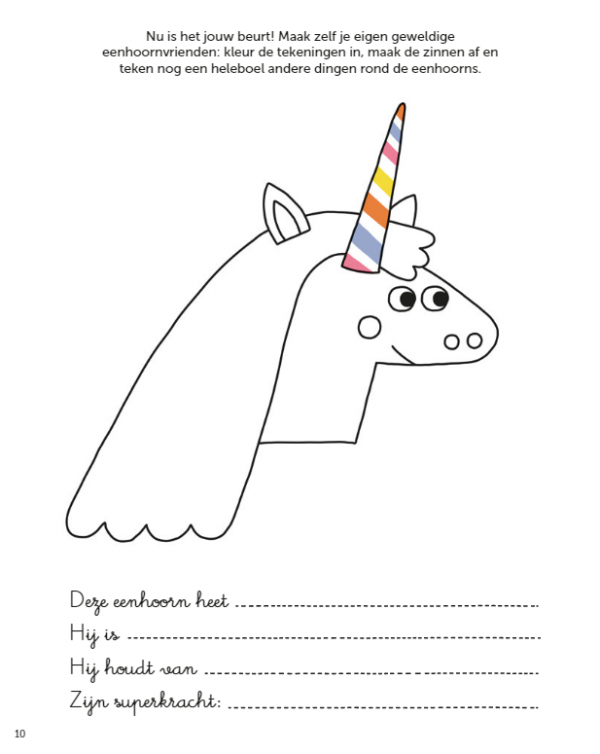 Unicorn magic spelletjesboek Cadeauboeken voor kinderen