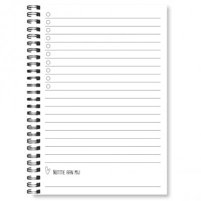 24/7 Stoer Notitieboek – A5 Notitieboek