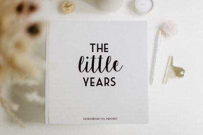 Bonjour to you – The Little Years opgroeiboek Opgroeiboek