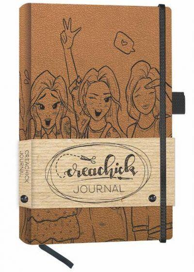 CreaChick Bullet Journal – Roestbruin Boeken met gratis verzending