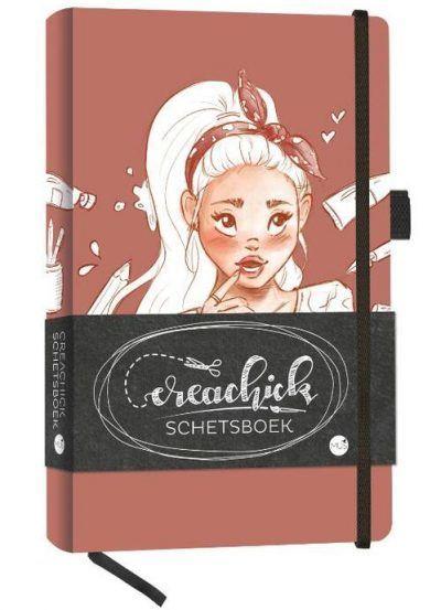 CreaChick Schetsboek Boeken met gratis verzending