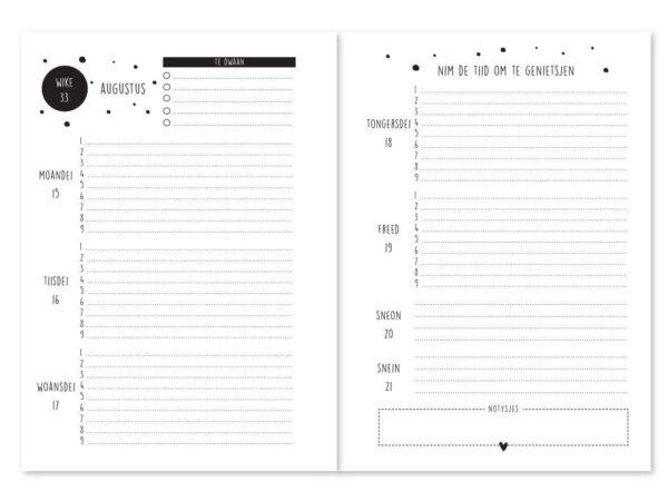 Krúskes Schoolagenda 2021-2022 – A5 Friese boeken
