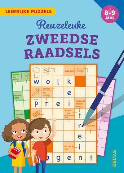 Leerrijke puzzels – Reuzeleuke Zweedse raadsels (8-9 j.) Puzzelboek voor kind