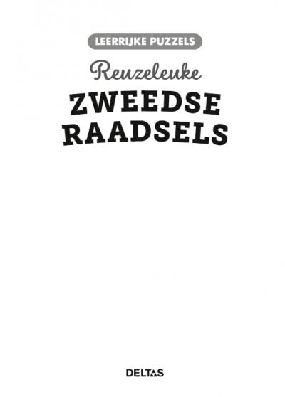 Leerrijke puzzels – Reuzeleuke Zweedse raadsels (9-10 j.) Puzzelboek voor kind