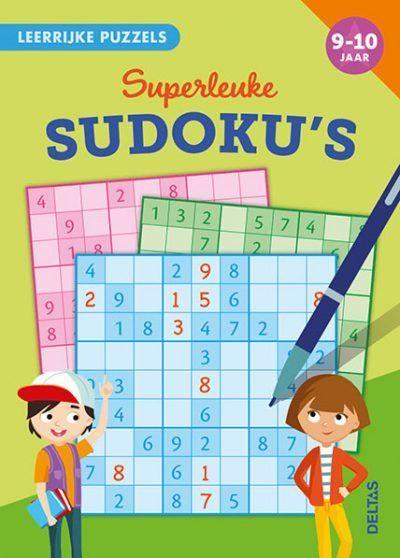 Leerrijke puzzels – Superleuke sudoku's (9-10 j.) Puzzelboek voor kind