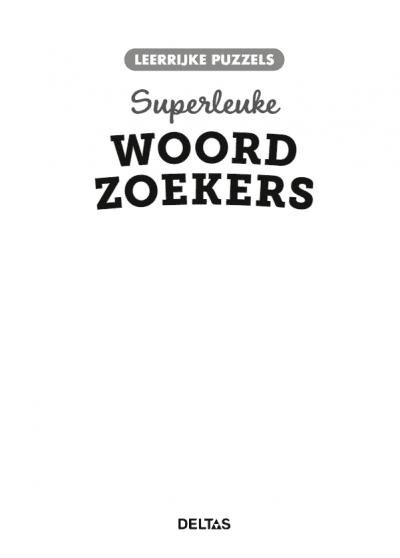 Leerrijke puzzels – Superleuke woordzoekers (10-12 j.) Puzzelboek voor kind