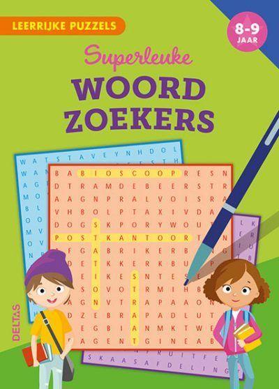 Leerrijke puzzels – Superleuke woordzoekers (8-9 j.) Puzzelboek voor kind