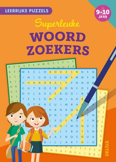 Leerrijke puzzels – Superleuke woordzoekers (9-10 j.) Puzzelboek voor kind