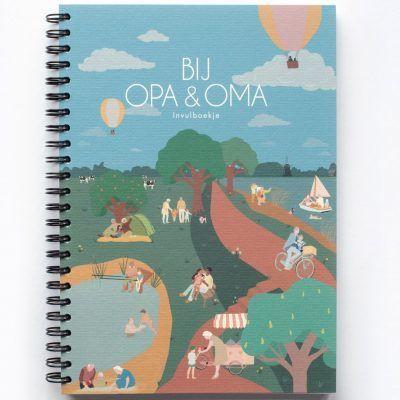 Leukigheidjes Bij Opa & Oma invulboek Cadeauboeken