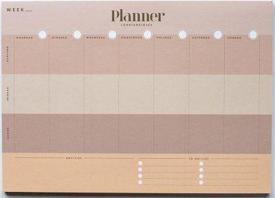 Leukigheidjes Weekplanner – A4 Weekplanner