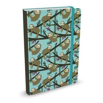 Peter Pauper Notitieboekje – Sloths Blue (klein) Notitieboek
