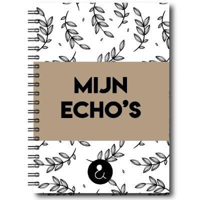 Studio Ins & Outs – Echoboekje – Botanical Caramel Echoboekje