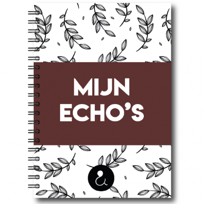 Studio Ins & Outs – Echoboekje – Botanical Roest Echoboekje