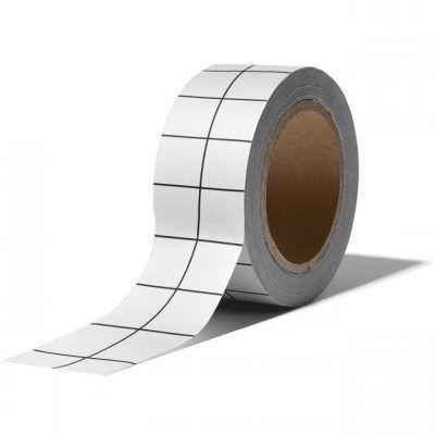 Studio Stationery Washi tape – Grid white Masking tape