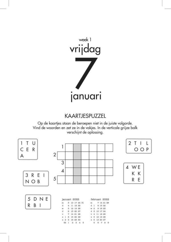 365 Braintrainers Scheurkalender 2022 Grappige kalender