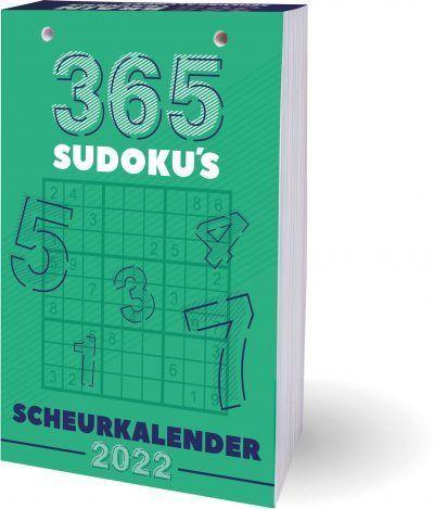 365 Sudoku's Scheurkalender 2022 Grappige kalender