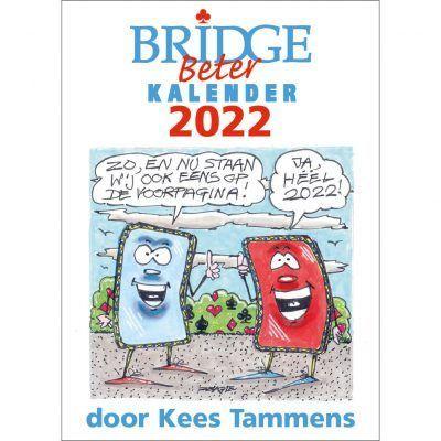 Bridge Beter Scheurkalender 2022 – Kees Tammens Kalenders voor 2022