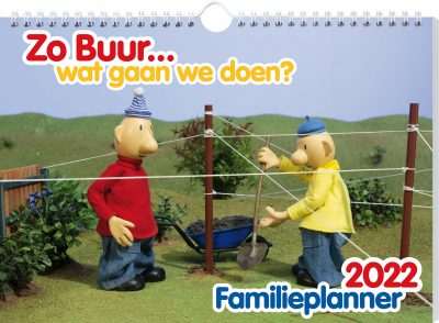Buurman & Buurman Familieplanner 2022 Familie kalender