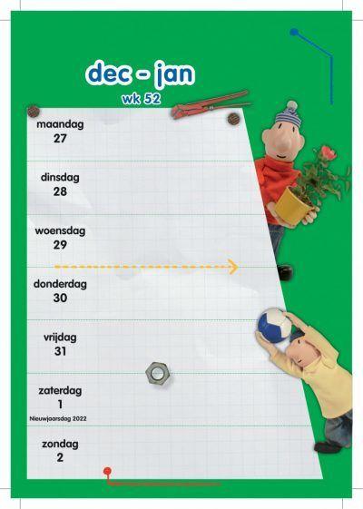 Buurman & Buurman Weekkalender 2022 Jaarkalender