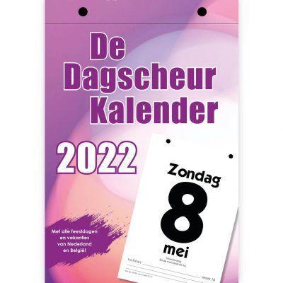 Dagscheurkalender 2022 Kalenders voor 2022