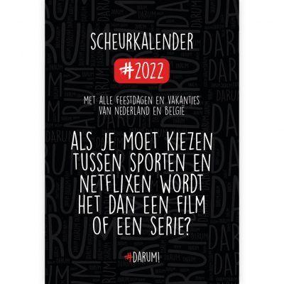 Darum Scheurkalender 2022 Darum! kalender