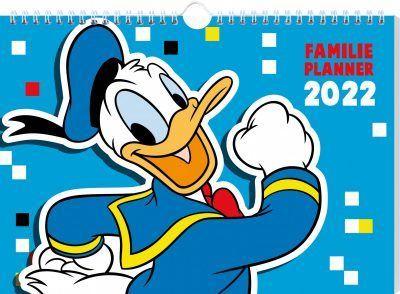 Donald Duck Familieplanner 2022 Familie kalender
