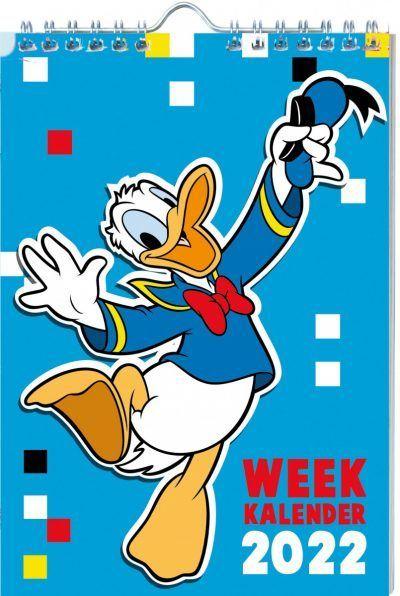 Donald Duck Weekkalender 2022 Jaarkalender