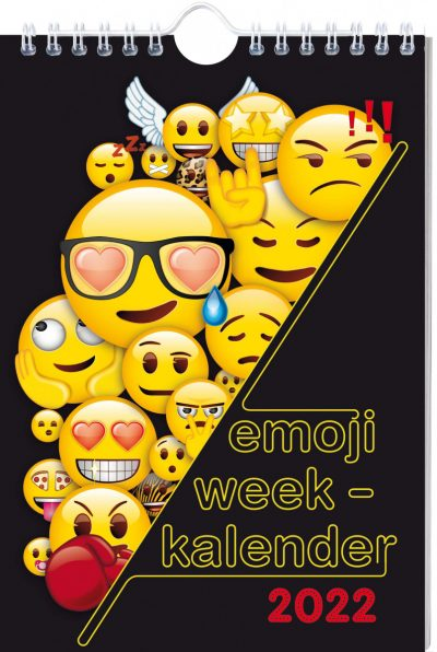 Emoji Weekkalender 2022 Jaarkalender