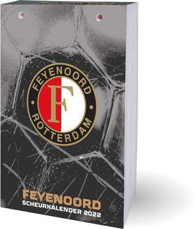 Feyenoord Scheurkalender 2022 Feyenoord kalender